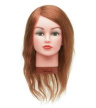 Babafej - Gyakorló Babafej 100% humán hajjal Eleonor (szőke)