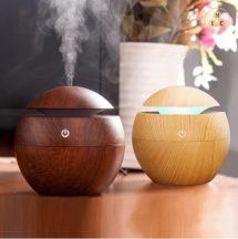 MYLIKE Aromaterápiás Diffúzor - S - Fa hatású - Több színben - 130 ml