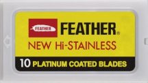Barburys Platinum Borotva penge 10db-os (Feather)