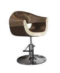 Stella Stain Brown SX-2107 Hidraulikus szék Szatén barna-bézs