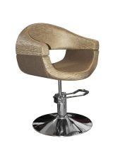 Stella Salon SX-2107 Hidraulikus szék - Szatén barna