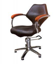 Stella Salon Hidraulikus fodrász szék Fekete SX-680B